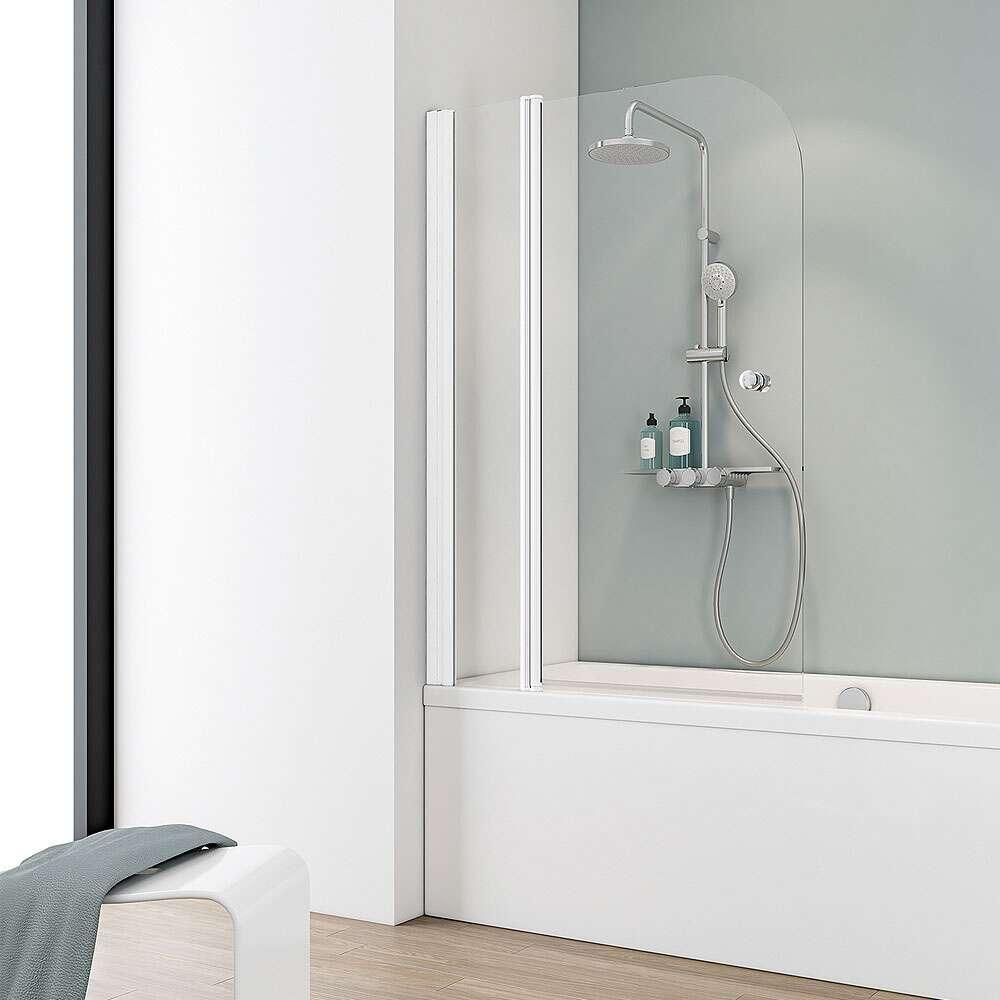 badewannenfaltwand 2 teilig oc91 hitoiro. Black Bedroom Furniture Sets. Home Design Ideas