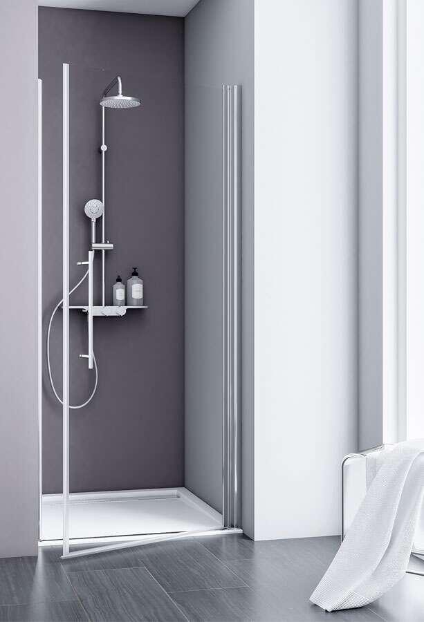 schulte express plus alexa style 2 0 dreht r f r nische. Black Bedroom Furniture Sets. Home Design Ideas