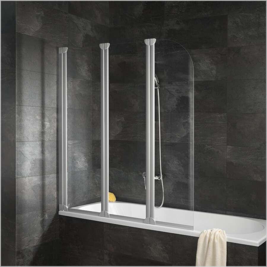 schulte alexa style badewannenaufsatz 3 teilig d1654. Black Bedroom Furniture Sets. Home Design Ideas