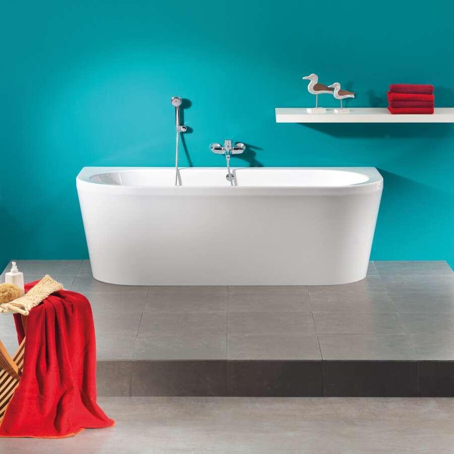 duschmeister freistehende badewanne oslo 703801. Black Bedroom Furniture Sets. Home Design Ideas