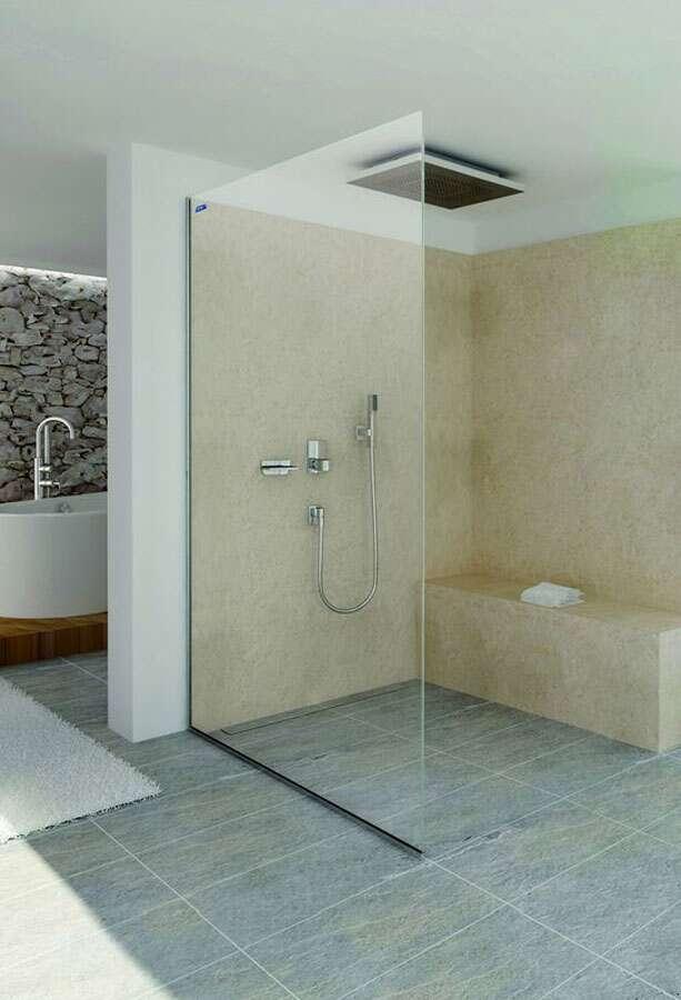 duscholux air walk in duschwand 10 mm. Black Bedroom Furniture Sets. Home Design Ideas