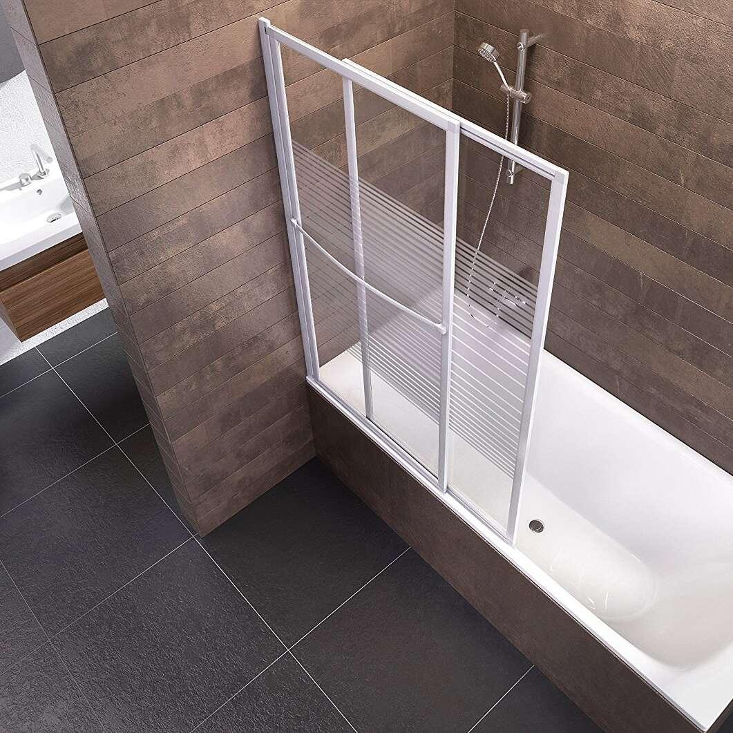 schulte badewannenaufsatz kiel glas 2 teilig 140x70 118 cm alpinwei d11300472. Black Bedroom Furniture Sets. Home Design Ideas
