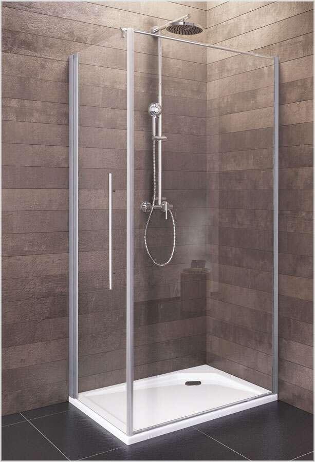 Schulte duschkabine dreht r mit seitenwand bremen 80x90 cm express d241515 - Duschwand 80x80 ...