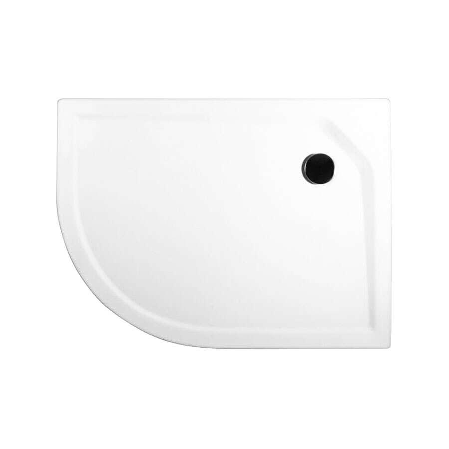 schulte express plus duschwanne rund ef flat acryl 750 x 900 mm radius 550. Black Bedroom Furniture Sets. Home Design Ideas