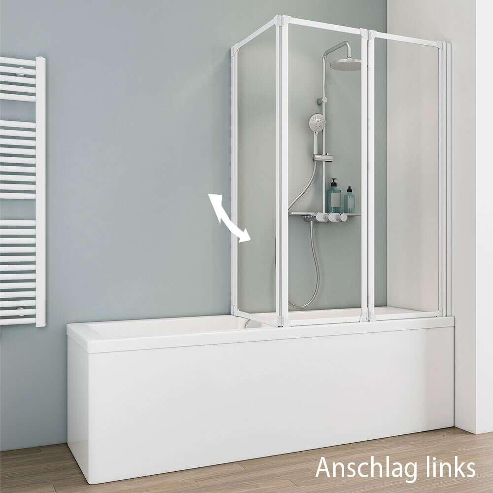 komfort iii spezial badewannenaufsatz 3 teilig d1420. Black Bedroom Furniture Sets. Home Design Ideas