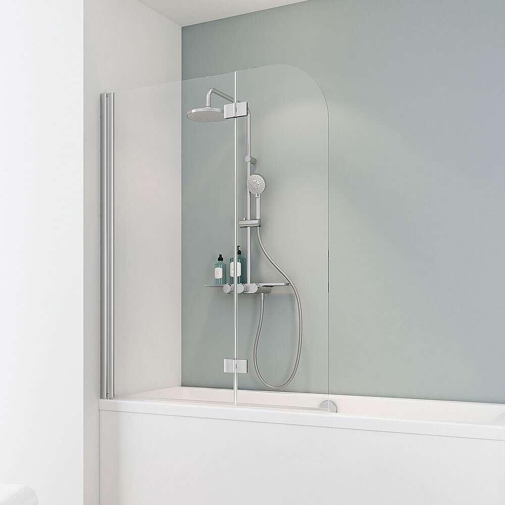 duschmeister 304 badewannenaufsatz 2 teilig d3353. Black Bedroom Furniture Sets. Home Design Ideas