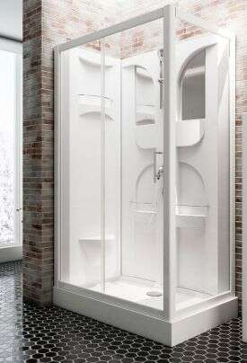 schulte duschkabine komplett fertigdusche malta d1919. Black Bedroom Furniture Sets. Home Design Ideas