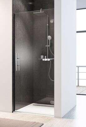 breuer duschabtrennung first glass dreht r in nische. Black Bedroom Furniture Sets. Home Design Ideas