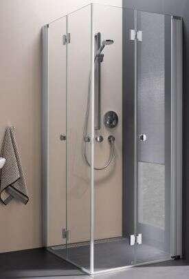 koralle duschkabine myday faltt r als eckeinstieg efts. Black Bedroom Furniture Sets. Home Design Ideas