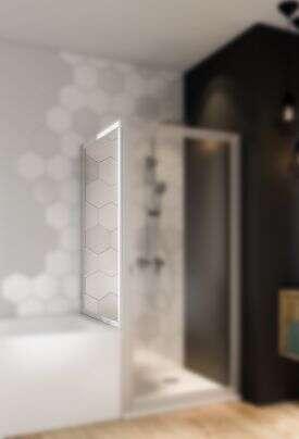 breuer duschabtrennung fara dreht r in nische. Black Bedroom Furniture Sets. Home Design Ideas