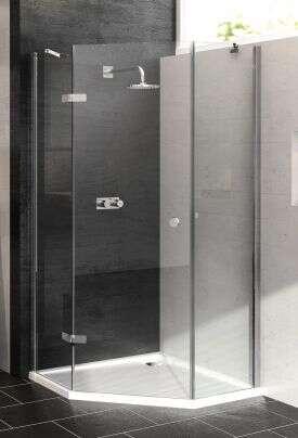 h ppe 5 eck dusche enjoy schwingt r 1 fl gelig links. Black Bedroom Furniture Sets. Home Design Ideas