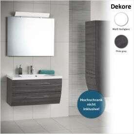 scanbad spar set rumba waschplatz mit spiegelschrank 90 cm ru 11xx34. Black Bedroom Furniture Sets. Home Design Ideas