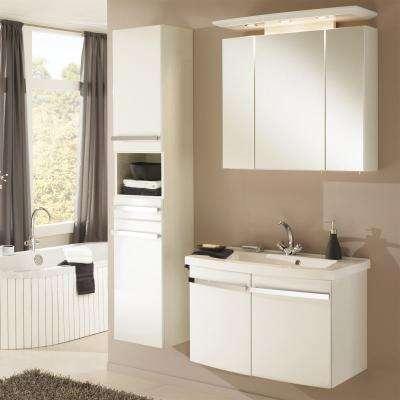 Waschplätze 65 - 85 cm breit zu günstigen Preisen bei Duschmeister.de | {Badmöbel weiss stehend 16}
