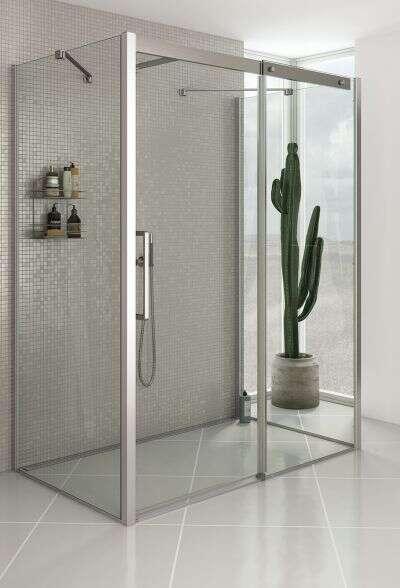 dansani xxl classic duschkabine schiebet r als u kabine. Black Bedroom Furniture Sets. Home Design Ideas