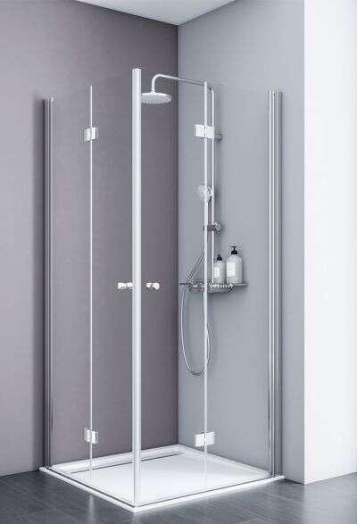 schulte duschkabine alexa style 2 0 eckeinstieg mit drehfaltt r d326606. Black Bedroom Furniture Sets. Home Design Ideas