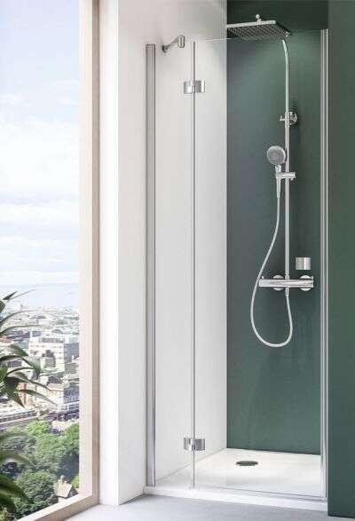 breuer dusche espira dreht r f r nische. Black Bedroom Furniture Sets. Home Design Ideas