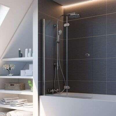 badewannenfaltw nde von breuer versandkostenfrei bei. Black Bedroom Furniture Sets. Home Design Ideas