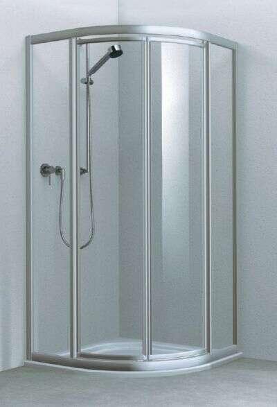 koralle duschkabine twiggytop rund mit pendelt ren 1950. Black Bedroom Furniture Sets. Home Design Ideas