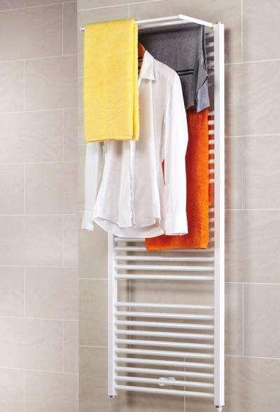 Schulte Badheizkörper Turbo mit abklappbarem Handtuchhalter ...