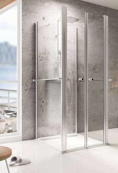 dreiseitige duschkabine 80 80 smartpersoneelsdossier. Black Bedroom Furniture Sets. Home Design Ideas