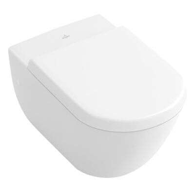 Villeroy & Boch Villeroy & Boch Subway 1.0 WC-Sitz weiß mit Soft Close Quick Rel