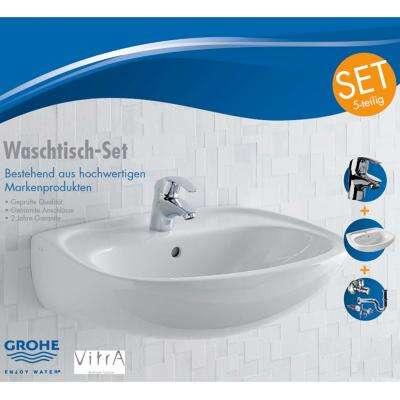 Duschmeister Waschbecken Set 60 Cm Waschtisch Set 1795317