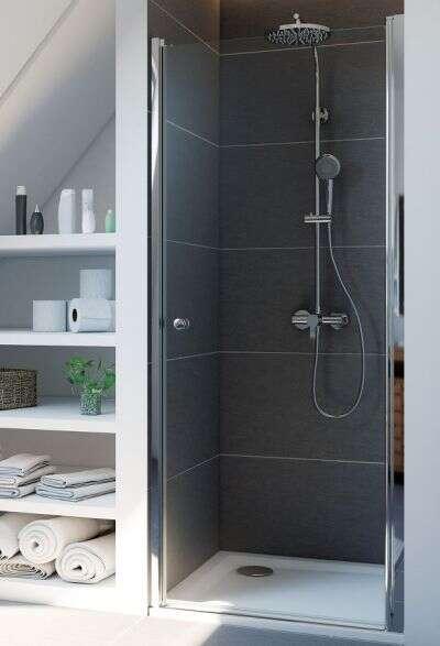 breuer duschabtrennung elana dreht r in nische. Black Bedroom Furniture Sets. Home Design Ideas