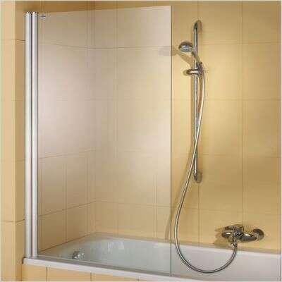 Hüppe 501 design elegance badewannenaufsatz 1 teilig 8e1901 ...