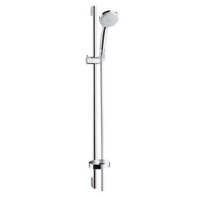Hansgrohe hansgrohe Duschset Brause Croma Vario 100 + Stange Unica C 90 cm