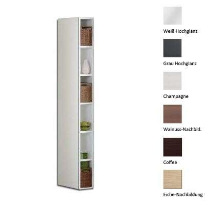 scanbad badschrank hochschrank delta 6f schmal hochschrank. Black Bedroom Furniture Sets. Home Design Ideas