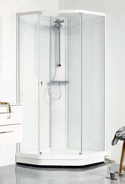 dusche komplett set affordable home deluxe black pearl duschkabine x cm with dusche komplett. Black Bedroom Furniture Sets. Home Design Ideas