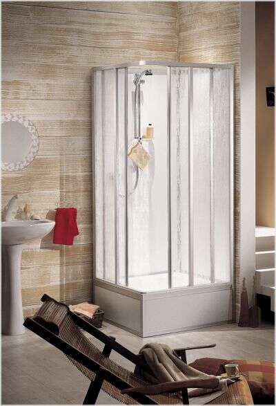 Komplett-Duschkabinen und Fertigduschen von Schulte, Dusar und Scanbad
