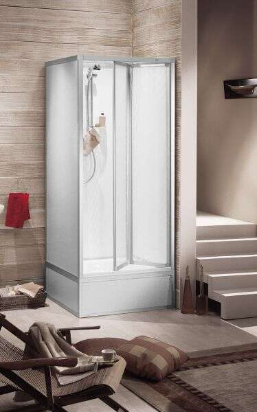 roth komplettdusche exklusiv faltt r f r boiler und pumpe 70x70 1115000122. Black Bedroom Furniture Sets. Home Design Ideas