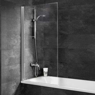 schulte einfach ohne bohren badewannenaufsatz 130 1 teilig. Black Bedroom Furniture Sets. Home Design Ideas