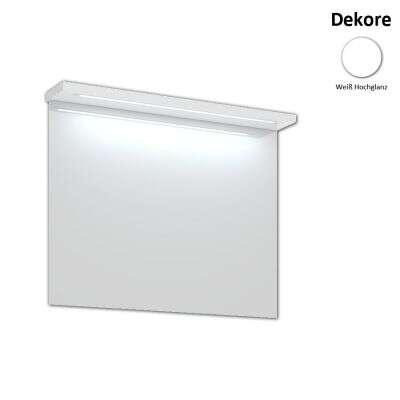 Duschmeister Skagen Spiegel mit LED-Lichtleiste 100 cm Spiegel ...