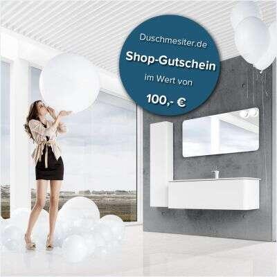 duschmeister geschenkgutschein zum ausdrucken und verschenken 100 100 euro dm gutschein. Black Bedroom Furniture Sets. Home Design Ideas
