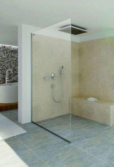 Duscholux Duschwand duscholux air walk-in duschwand 10 mm | duschmeister.de