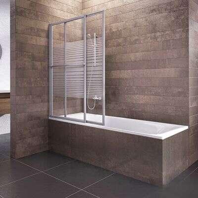 schulte badewannenaufsatz kiel glas 2 teilig 140x70 118 cm alunatur d11300172. Black Bedroom Furniture Sets. Home Design Ideas