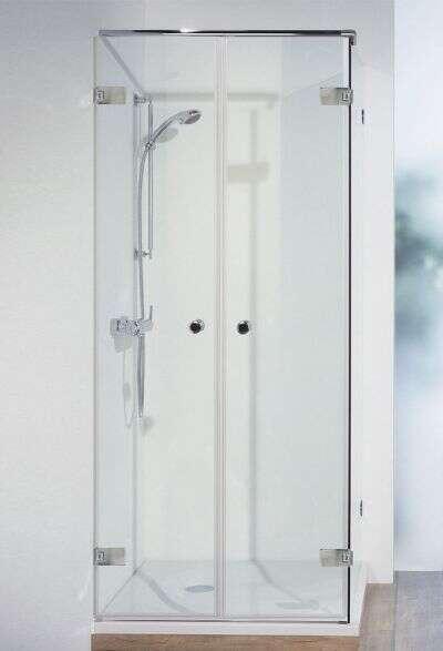 Breuer Duschkabine First Glass Pendeltür inklusive Seitenwand 3758 ...