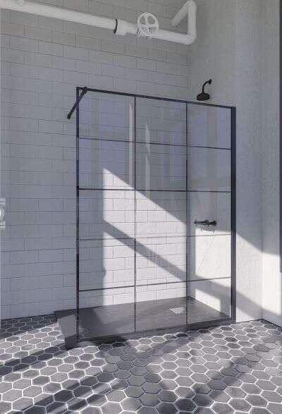 doccia mindanao dusche industrial design xv walk in. Black Bedroom Furniture Sets. Home Design Ideas