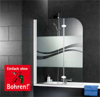 montage ohne bohren bei. Black Bedroom Furniture Sets. Home Design Ideas