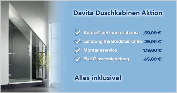 Die Vorteile der Davita Aktion auf einen Blick.