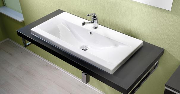 waschtisch mit becken free keramik waschtisch waschbecken cm splbecken neu with waschtisch mit. Black Bedroom Furniture Sets. Home Design Ideas