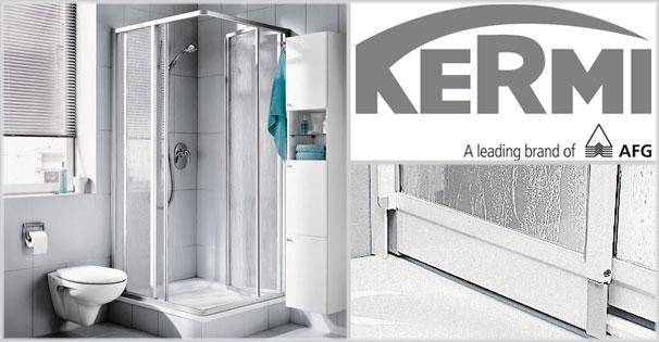 Eine der ersten Duschkabinen-Serie des Markenherstellers Kermi ist die Serie Nova 2000