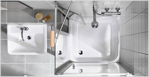 Seit dem 50. Jubiläum 2010 bietet die Kermi GmbH komplette Waschplatz-Lösungen an