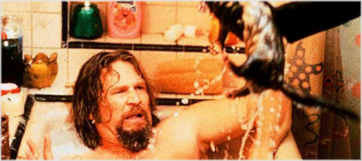 "Jeff Bridges als ""Der Dude"" in The ""Big Lebowsky"" © Working Title Films"