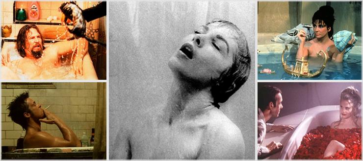 Die fünf berühmtesten Dusch- und Bad-Szenen