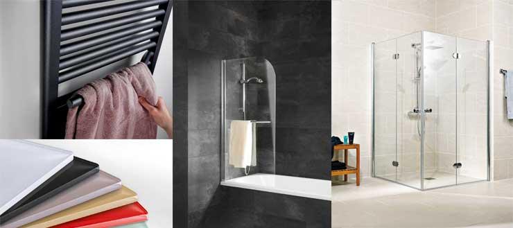 Ob Badheizkörper, Duschrückwände, Badewannenfaltwände oder Duschkabinen - Schulte liefert beste Qualität für Ihr Bad: Made in Germany.