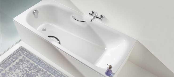 Hier sehen Sie eine Badewanne des Markenherstellers Kaldewei. Im shop finden Sie sie hier.