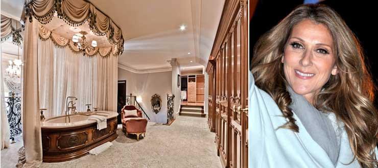 Badezimmer von Celine Dion